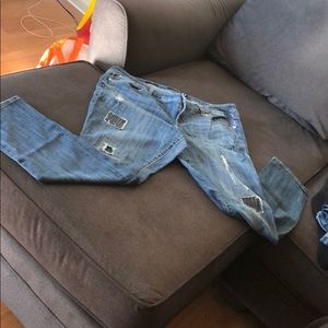 Torrid size 18 skinny jeans.